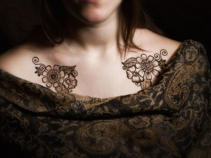 Henna Photo Shoot – In The Studio