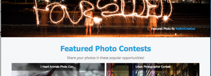 RODION CREATIVE was FEATURED!!! Home Page of Viewbug.com